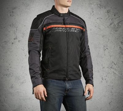 men 39 s tactful riding jacket textile official harley. Black Bedroom Furniture Sets. Home Design Ideas