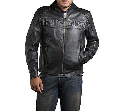 Harley davidson roadway leather jacket