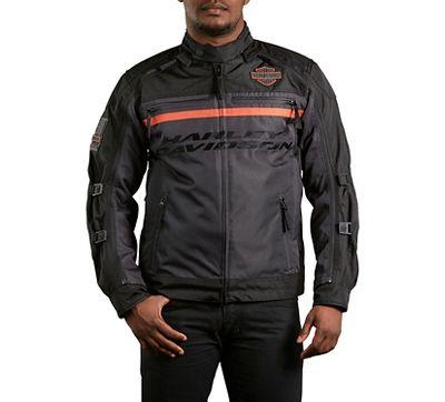 men 39 s elite switchback jacket textile official harley. Black Bedroom Furniture Sets. Home Design Ideas
