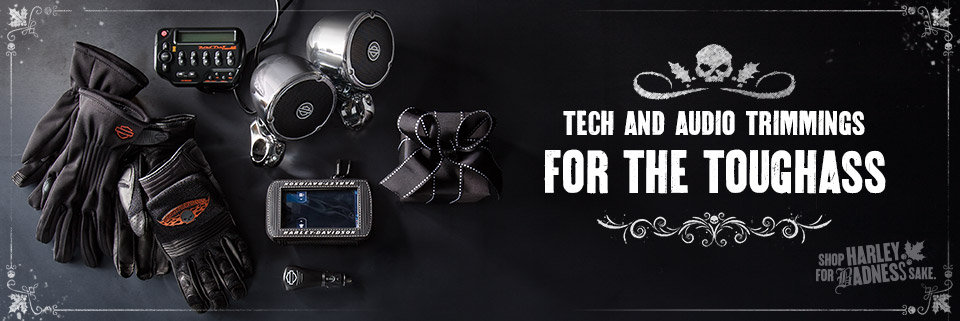 Harley-Davidson Holiday Gift Guide - Tech & Audio Gifts