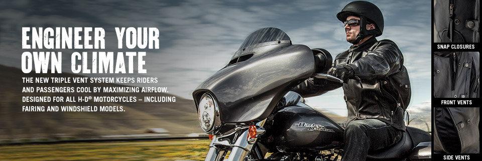 Harley-Davidson Triple Vent System