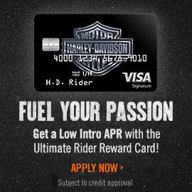 Harley Visa Card Promo