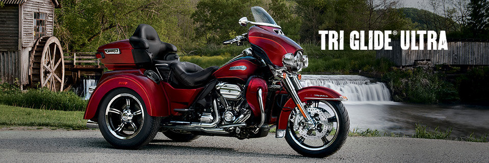 The 2016 Harley Davidson Tri Glide Ultra Provides Three: 2017 Tri Glide Ultra