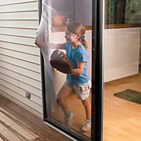 Flexible Replacement Removable Patio Screen Door Kit
