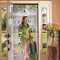 Instant Walk Thru Door Screens