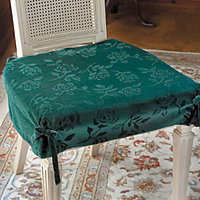 Damask Dining Room Chair Seat Covers