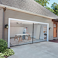 Garage Door Removable Patio Screen