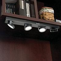 Pivoting LED Bar Battery Operated Closet Light