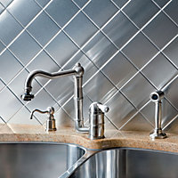Metal Backsplash Tiles
