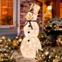 Lighted Outdoor Snowman