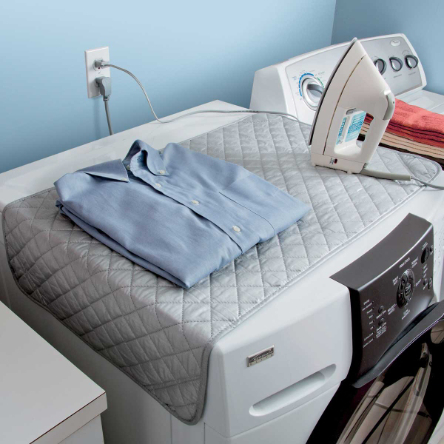 Magnetic Ironing Blanket - Real Simple Magazine