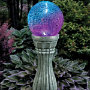 Color-Changing Solar Gazing Ball