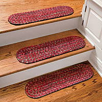 Chenille Tweed Outdoor Rubber Stair Treads