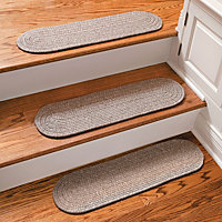 Heathered Outdoor Rubber Stair Treads