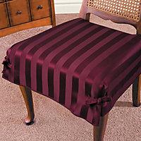 tonal stripe chair cushion covers - Chair Cushion Covers