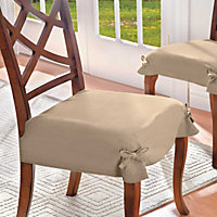 Microsuede Dining Room Chair Seat Covers