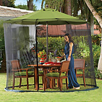 Umbrella Removable Patio Screen