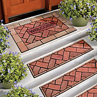 Bricks Outdoor Rubber Stair Treads