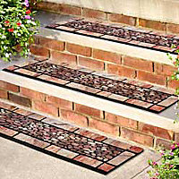 Patio Stones Outdoor Rubber Stair Treads