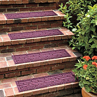 Weave Frame Outdoor Rubber Stair Treads