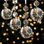 Diamond Crystal Ornaments