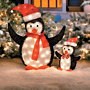 Penguin Outdoor Christmas Decorations