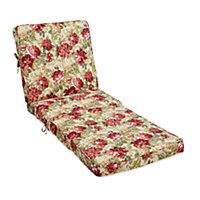 Sun Lounger Steamer Chair Cushion