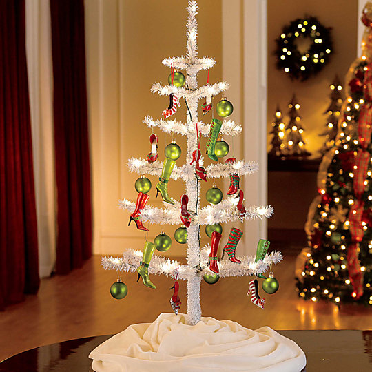 How to display christmas ornaments improvements