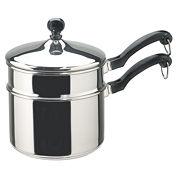 Farberware® Classic 2-qt. Stainless Steel Saucepan + Double Boiler