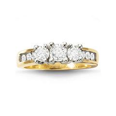 Love Lives Forever™ Diamond 3-Stone Ring