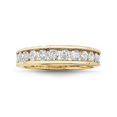 1 CT. T.W. Diamond 10K Wedding Band