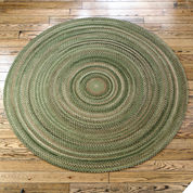 Colonial Mills® Greenbrier Reversible Braided Wool Round Rug