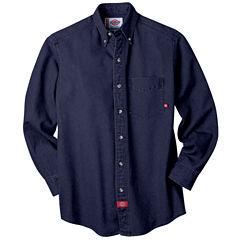 Dickies® Long-Sleeve Denim Work Shirt