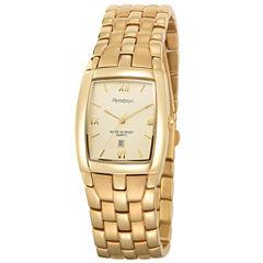Armitron® Mens Gold-Tone Watch