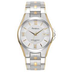 Armitron® Mens Stainless Steel Watch