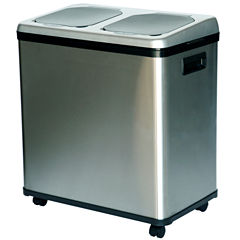 iTouchless® Sensor 16-Gal. Recycler/Trash Can