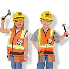 Melissa & Doug® Construction Worker Costume Set