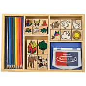 Melissa & Doug® Deluxe Stamp Set