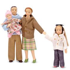 Melissa & Doug® Victorian Doll Family