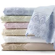 600tc Easy Care Lace Sheet Set