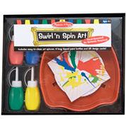 Melissa & Doug® Swirl 'n' Spin Art Set