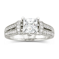 DiamonArt® Cubic Zirconia Engagement Ring