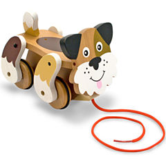 Melissa & Doug® Playful Puppy Pull Toy