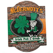 Cathy's Concepts Personalized Irish Pub & Grub Bar Sign