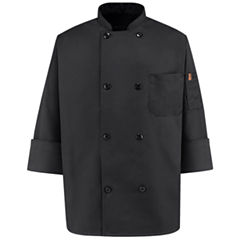 Chef Designs® 8 Pearl Button Chef Coat