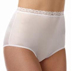 Vanity Fair®Lace-Trim Brief Panties - 13060