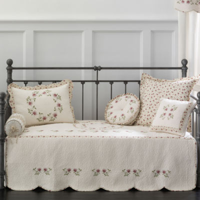 home expressions lynette embroidered daybed cover u0026 accessories