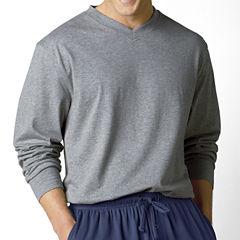Stafford® Knit V-Neck Sleep Shirt –Big & Tall