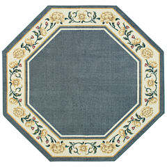 Verona Washable 5 FT Octagonal Rug