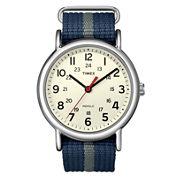 Timex® Weekender Blue & Gray Fabric-Strap Watch